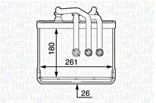 Wärmetauscher Heizungskühler für BMW CITROEN MERCEDES MG TOYOTA 1.0-4.0L 86-08