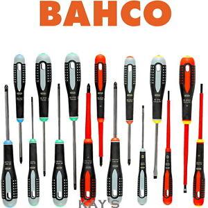 BAHCO 15 Piece Screwdriver Set VDE & Standard PZ, PH, Slot & Torx Drive BE-9877