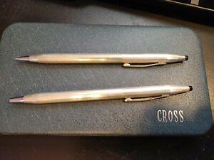 Sterling Silver Cross Pen/pencil