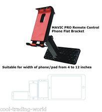 Phone Flat Bracket 4-12 Inch Holder Parts for DJI Mavic Pro Drone Remote Control