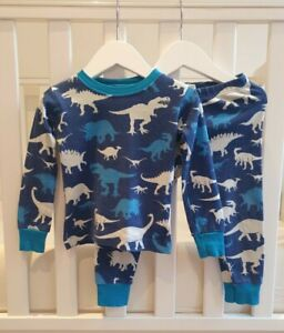 Hatley Dinosaur Pyjamas PJs 18-24 months 1-2 years Warm Boys Girls