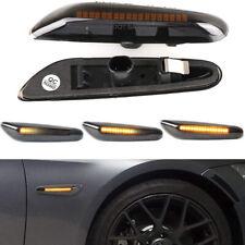 Dynamic LED Turn Signal Side Light Indicator Fit For BMW E91 E92 E46 E60 E82 E87