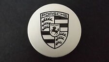 Porsche Wheel Center Cap Silver Finish 3 Inch Diameter 993.361.303.05