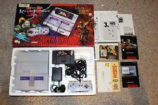 Super Nintendo System Console Complete SNES #SNK2 with Killer Instinct Bundle
