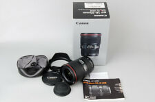 Canon EF 16-35mm f/4 F4 L IS USM Lens Suit 7D MK2 6D 5D Mark II MK III IV 5DS