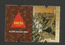 Portugal 2014 - The Coffee Timor LABEL DELTA stamp MNH