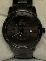 Relic ZR11998 Men's Black Stainless Steel Analog Dial Quartz Wrist Watch  Ee201