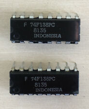 Pair of Fairchild 74F138 74F138Pc Decoders/Demuxers, Nos, Free Shipping!