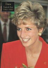 PRINZESSIN DIANA-WINDSOR-WALES-Adel-Royal-ORIGINAL POSTCARD-LONDON-Monarchie