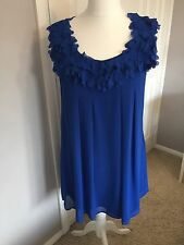 Ted Baker Frill Swing Dress Size 3