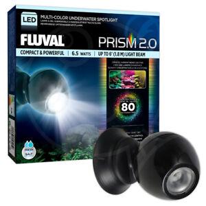 Fluval Prism 2.0 LED Spotlight Underwater Colour Change 6.5W Aquarium Fish Tank