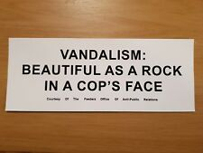 Kurt Cobain (Nirvana) - Vandalism decal guitar sticker. punk rock emo grunge