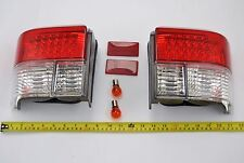 PAIR DEPO CRYSTAL REAR LIGHTS LED NEW FOR VW TRANSPORTER T4 441-1919P4BEVCR