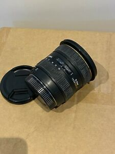 Sigma 10-20mm F3.5 EX DC HSM wide angle camera lens for Canon Camera's
