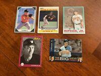 HOF Cal Ripken Jr - Baltimore Orioles Baseball Card Lot of 10
