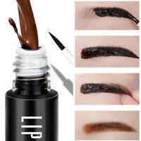 LIPHOP Dye Eyebrow Cream Waterproof Peel off Eyebrow Tint Gel 8g Makeup DQUS