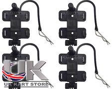 AMB 160 / 260 Standard & Flex Transponder Holder with R Clip x 4 UK KART STORE