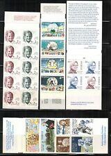 Lot of Sweden 4 Complete Booklets MNH