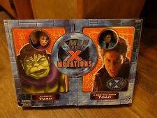 """2000 TOY BIZ--XMEN THE MOVIE--8"""" CLASSIC TOAD & THE MOVIE TOAD FIGURE SET (NEW)"""