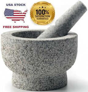 Mortar and Pestle set by cookwise, 2 cup capacity made for lifetime