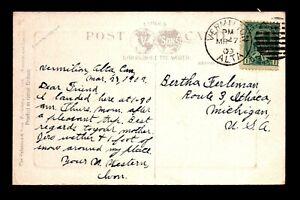 Canada 1909 Vermilion ALTA Crisp Cancel Card - L28174