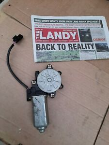 LANDROVERY DISCOVERY 1 (300TDI) OSF WINDOW MOTOR .GENUINE ITEM