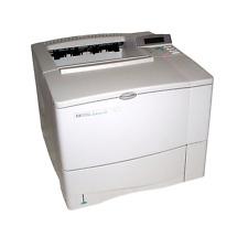 HP LaserJet 4000N C4120A Laserdrucker Schwarz/Weiß A4 Netzwerk *Gebraucht*