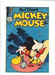 Walt Disney Mickey Mouse #225 VG/FN 5.0 Gladstone Comics 1987