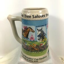 Vtg Oak Tree Salutes the Goodwood Champions Santa Anita Park Mug 2001 barware