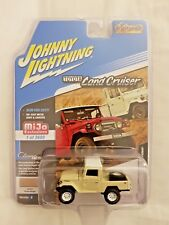 Johnny Lightning Toyota Land Cruiser Mint Beige On White Pickup Mijo Exclusive