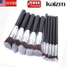10Pcs Makeup Brush Powder Woman Tool Useful Foundation Cosmetic Lip Blending US