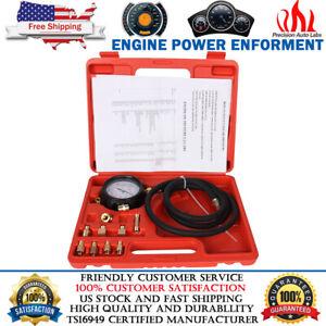 Transmission Engine Oil Pressure Tester Gauge Diagnostic Tool Set TU11A 0-500PSI