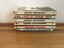 Lot of 6 Edgar Rice Burroughs ~ Pellucidar ~Earth's Core, Back to the Stone Age+