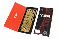 YBN High Quality 10S Speeds Chain SLR Gold Hollow MTB Road Bike Chain New
