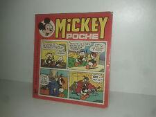 MICKEY POCHE MENSUEL n° 43  WALT DISNEY 1977