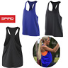 SPIRO GYM TANK TOP FITNESS YOGA TRAINING LOOSE FIT OVERSIZED QUICK DRY LADIES