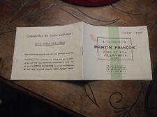 Ancienne Fabrique de Chaise et Fauteuille Martin François Villevieux Jura 1965