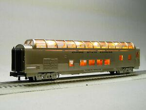 O-Gauge - MTH - New York Central 60' Streamlined Full-Length Vista Dome Car