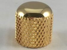 "Gold Dome Knob for Tele - Fits 1/4"" Solid Shaft Pots on Telecaster or J. Bass"