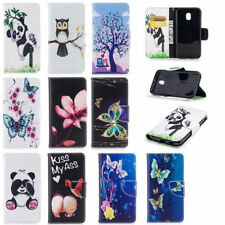 Trendy Animal Wallet Case Flip PU Leather Stand Cover Slot For Mobile Cell Phone