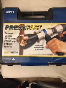 ApolloXpress PressFast Press Tool Kit Ataches To Any 1/2 In 69PFT