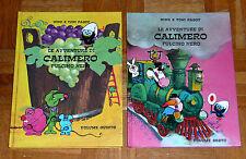 """Pagot """"LE AVVENTURE DI CALIMERO"""" - Volumi 5 e 6 (cartonati e illustrati)"""