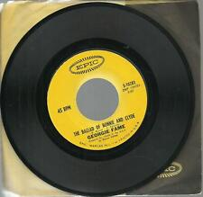GEORGIE FAME THE BALLAD OF BONNIE AND CLYDE 45 record