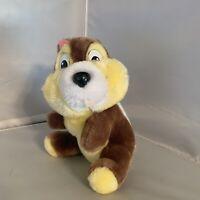 Vintage Disney Chipmunk Plush Chip & Dale Disneyland Stuffed Animal