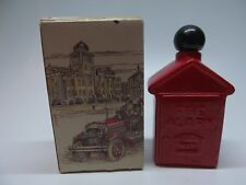 Vintage Avon FIRE ALARM BOX After Shave decanter Collectible Empty In box