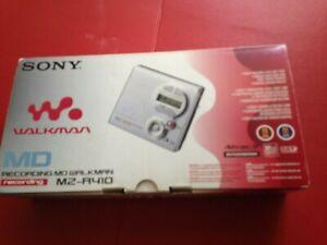Boxed Sony Walkman MD Mini Disc Recording MZ R410 MZ-R410