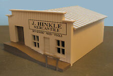 J HINKLE MERCANTILE - OLD WEST - HO-320 - HO Scale by Randy Brown