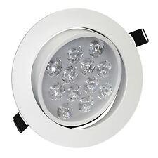 LED Soffitto Downlight angolo di regolazione a Incasso Faretti 12w Cool White