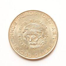 1956 Messico 5 PESOS argento SNo47994