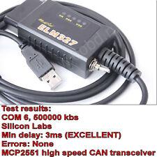 ELM327 USB modificado para Ford elmconfig Hs-puede/ms-puede forscan OBD2 elmconfig